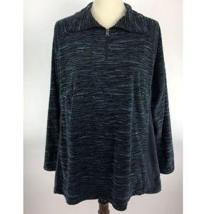 Columbia Pullover Fleece Sweater Womens Plus 2X